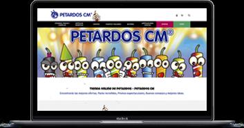 Pukkas, Diseño y desarrollo web en Barcelona - Programación ecommerce de Petardos CM